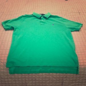 Ralph Lauren Polo Green Collared Shirt